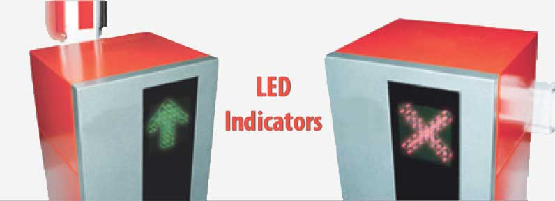 Barrier Gate LED Banner
