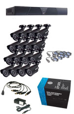 16 Channel Cheap Security Cameras