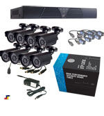 8 Channel Cheap Security Cameras Package Picture