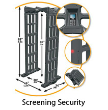Walk-through Metal Detector Scroller Image