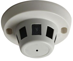 Smoke Detector Camera Picture Overview