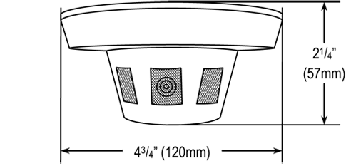 Camera Dimmensions Diagram