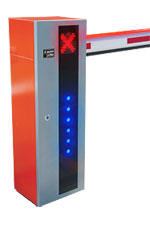 LED barrier gate